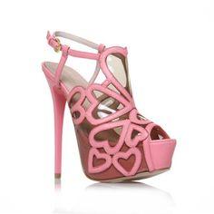 289f64984ff Pink Sandalias Planas, Sandalias De Tacón, Zapatos De Plataforma, Kurt  Geiger, Zapatos