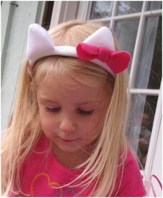 Think Crafts Blog – Craft Ideas and Projects – CreateForLess » Blog Archive » How to Make Easy Animal Ears