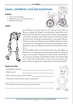 Free Reading Diary ~ Loud reading promotes German pronunciation and my . Getting A Kitten, German Grammar, German Language Learning, Learn German, Elementary Education, Free Reading, Reading Comprehension, Pre School, Bible Quotes
