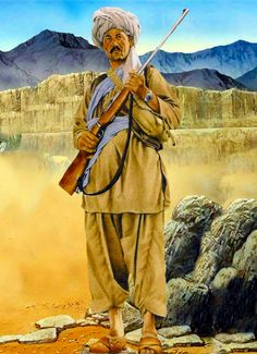 Afghan guerrilla 1980, during the Soviet invasion of Afghanistan