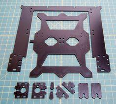 Horizon Elephant Prusa i3 Rework Extra Large 3D Printer laser cut Frame Kit 6mm PE plate #Affiliate