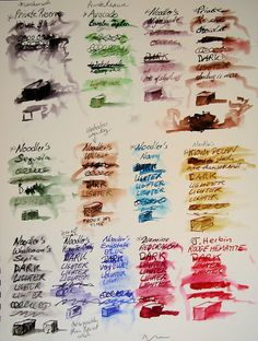 Hudson Valley Sketches: Washes over inks