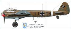 Aviation art made by Maciej Noszczak: Ju 88 A-4 first post.