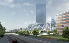 JDS Architects | La Defense Prism