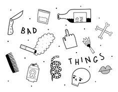 BadThings.jpg Sarah Goodreaux