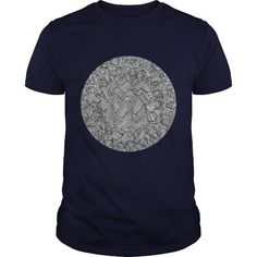 I Love Circular Abstraction Series Study 2 T-Shirts