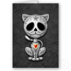 sugar skull cartoon - Google Search