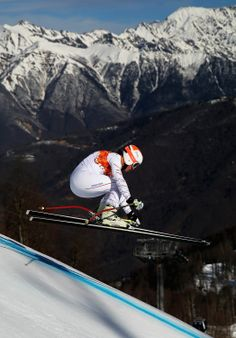 Jared Goldberg of the United States competes during the Alpine Skiing Men's Super Combined Downhill (c) Getty Images