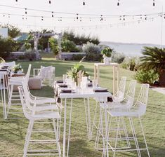 """""""This island had us at hello. still dreamin about this wedding weekend we created for tourism in collaboration with We'll be rolling out goodness allllll weekend long!"""" By featuring our Lucy Bar Stools in White Cocktail Wedding Reception, Outdoor Wedding Reception, Marquee Wedding, Wedding Furniture, Outdoor Furniture Sets, Wedding Weekend, Dream Wedding, Marriage Material, Surprise Wedding"""