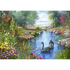 Castorland Puzzle 1500 Parça Black Swans, Andres Orpinas