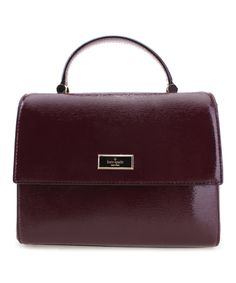 Take a look at this Mulled Wine Brynlee Bixby Place Leather Satchel today!