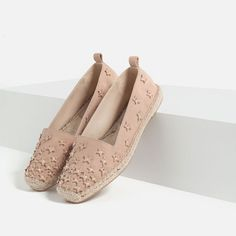Image 2 of LEATHER ESPADRILLES WITH STARS from Zara