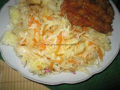 Moje domowe  kucharzenie: Surówka z kapusty i czosnku na drugi dzień