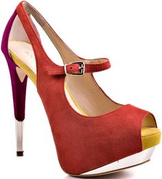 """Must-Grab: The Color Block Boutique 9 """"Nickeya"""" Pumps"""
