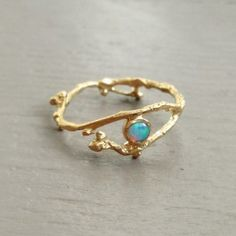 Bud Ring Opal - rings - jewelry