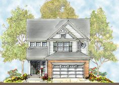 <ul><li>Plenty of interior living space is packed into this 30' wide home plan designed for a narrow lot. </li><li>First floor amenities include a private study off the two-story foyer, a walk-in pantry in the kitchen and a nearby computer area. </li><li>On the second floor, three family bedrooms and a hall bath share another computer loft. </li><li>The private master suite boasts a tray ceiling, large walk-in closet and a del...