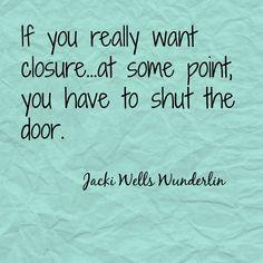 Closure quote                                                                                                                                                      More