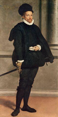 Portrait of the noble Bernardo Spini - Giovanni Battista Moroni