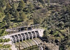 California's Drought Is So Bad Even Its Hydropower Is Drying Up. Copco No. 1 dam on the Klamath River outside Hornbrook, Calif.