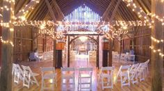 December 17th intimate wedding of 80 guests. Wedding in loft & dinner, reception, dance downstairs where our toasty geothermal heated floor & forced air are located. Warm indoor bathrooms too.