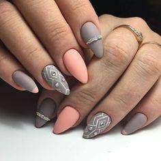 5,663 отметок «Нравится», 1 комментариев — Маникюр Ногти (@journal_nails) в Instagram: «Лучшие идеи маникюра! Подпишись @journal_nails #ногти#маникюр #дизайнногтей #гельлак…»