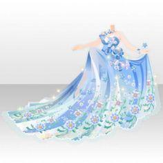 (Tops) Flower Garden Bouquet Dress ver.A blue.jpg
