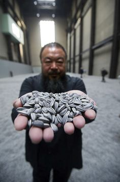 Ai Weiwei's Sunflower Seeds close at Mary Boone Gallery of Chelsea this week!