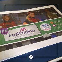 Anúncio criado pela Interativacom para o Festimalha no Guia da #Festadauva do Pioneiro. #publicidade #agenciacompleta