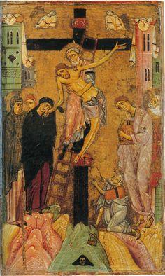Enrico di Tedice. Deposizione. Metà del XIII secolo