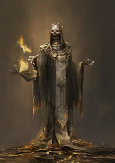 wizard 02 by zhu Liu (Lich) Dark Fantasy Art, Fantasy Rpg, Medieval Fantasy, Fantasy Artwork, Dark Art, Arte Horror, Horror Art, Fantasy Character Design, Character Art