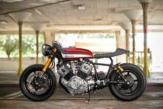 Racing Cafè: Yamaha XV 750 Virago by Hageman Motorcycles