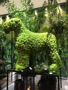Chien Fox Terrier, Wire Fox Terrier, Airedale Terrier, Fox Terriers, Topiary Garden, Garden Art, Beautiful Cats, Beautiful Gardens, Irish Terrier