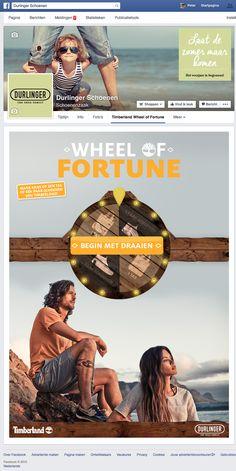 Facebook App | Facebook Marketing | Durlinger, Wheel of fortune