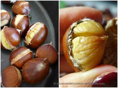 3 ways to peel chestnuts (and recipe for inside jars) - 3 techniques to easily peel chestnuts - Cooking Recipes For Dinner, Healthy Cooking, Cooking Tips, Cooking Pasta, Healthy Food, Meat Recipes, Fall Recipes, Healthy Recipes, Snack Recipes