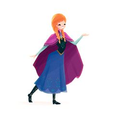 Anna - disney-females Fan Art