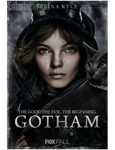 images of poison ivy gotham | Gotham : 8 affiches avec l'Homme Mystère et Poison Ivy