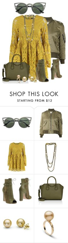 """""""Untitled #1611"""" by beng-gallo on Polyvore featuring Yves Saint Laurent, Boohoo, Plumeria Exclusive London, Elie Saab and Givenchy"""