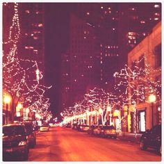 Chicago Gold Coast Oak Street