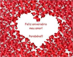 Feliz aniversário meu amor! Parabéns!!! #felicidades #feliz_aniversario #parabens