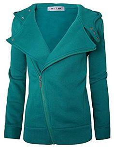 Women Slim fit Zip-up Hoodie Jacket