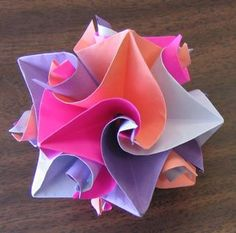 origami flowers | Funny Pictures, LOL and Daily Smiles » origami star flower