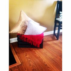 Another fun DIY Pinterest project for a little pop of color in any room!!! Fun & easy