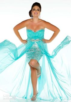 5a495515055 The Best Selling Hot Pink Blur Front Short Long Back Plus Size Prom Dress  2013 Chiffon