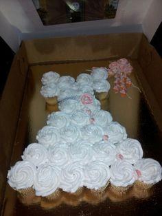 Bridal Shower cupcakes Bridal Shower Cake Sayings, Bridal Shower Cupcakes, Bridal Shower Flowers, Tea Party Bridal Shower, Bridal Shower Signs, Shower Cakes, Disney Bridal Showers, Chic Bridal Showers, Wedding Showers