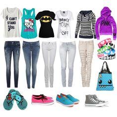 cute scene outfits