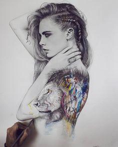 WANT A FEATURE ?   CLICK LINK IN MY PROFILE !!!    Tag  #LADYTEREZIE   Repost from @dimavys4   |My favorite drawing of the year 2016. Wish you the best for 2017! Guten Rutsch an alle :) und danke für das Jahr 2016 !Danke für eure Unterstützung. #2017#we#ready#for#you#letsgo#dailyarts#drawing#cara#art via http://instagram.com/ladyterezie
