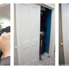 How to Easily Install Bi-fold Closet Doors
