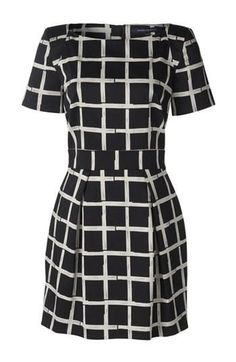Need this print Fit  Flare dress for work!