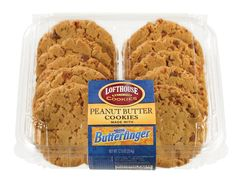 Lofthouse Peanut Butter Cookies Made With Butterfinger