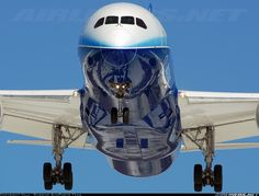 Airliners.net - Beautiful reflections on the 787-8 as it visits Moscow in 2012. Vala.